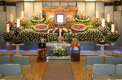 宝性寺越谷別院葬儀祭壇
