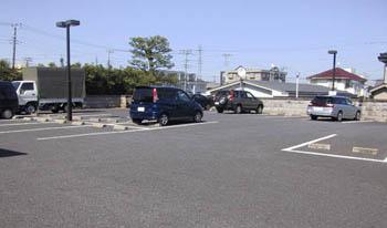 宝性寺越谷別院 境内駐車場