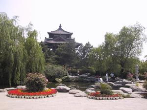 中国西安青龍寺