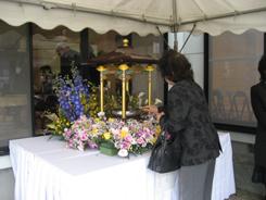 花見堂一般参拝